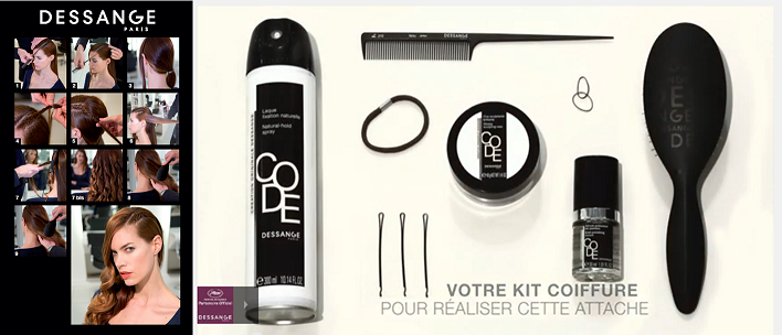 11 KIT COIFFURE  SIDE HAIR TRESSE