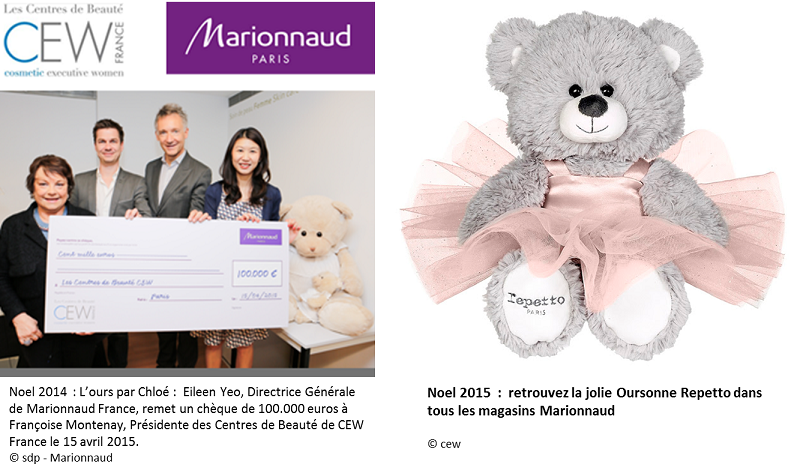 9 MARIONNAUD OURS