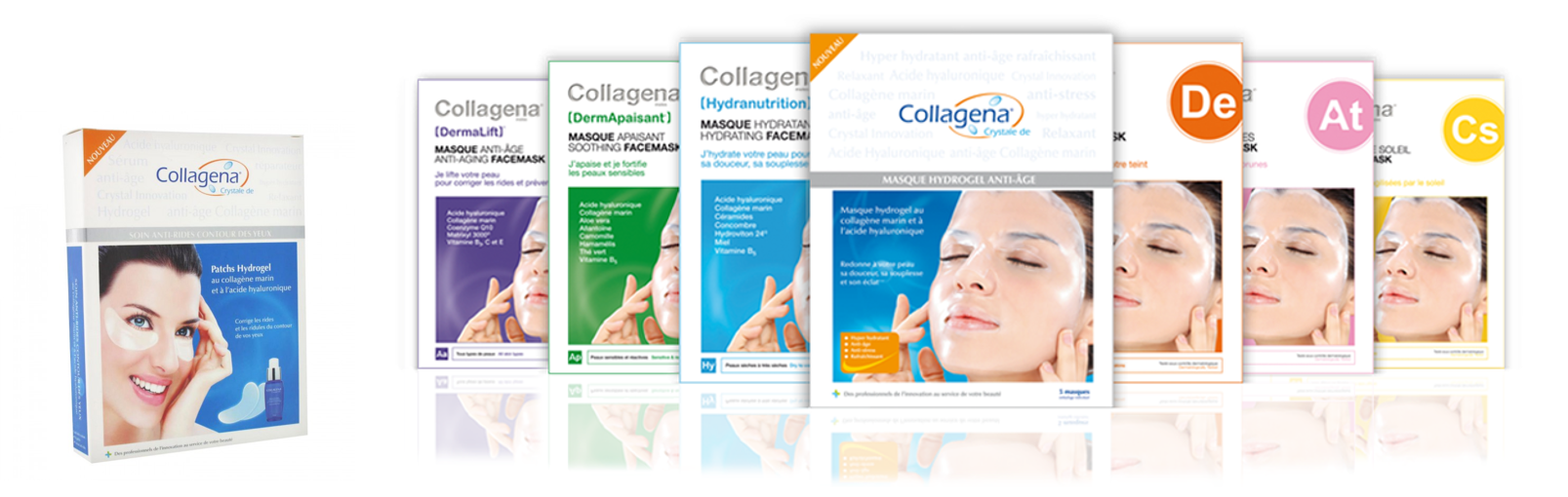 COLLAGENA patchs et masques